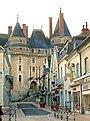 Chateau de Langeais et rue Thiers.JPG