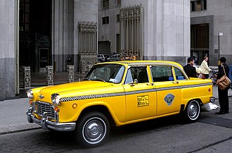 Checker Taxi - New York City, 2011