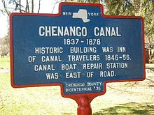 Chenango canal inn and boat repair station.