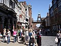 Chester - the Eastgate Clock from Eastgate Street - geograph.org.uk - 1172941.jpg