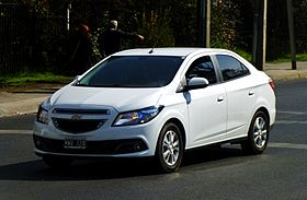 Chevrolet Prisma in Santiago, Chile.JPG