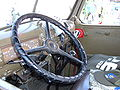 Chevrolet WW II fire truck Eagle Field Two steering wheel.JPG
