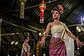 Chiang Mai. Benjarong Khantoke. Traditional Thai dance. 2016-10-14 20-41-32.jpg