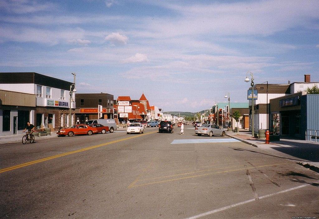 Chibougamau main street
