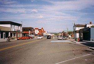 Chibougamau - Chibougamau main street