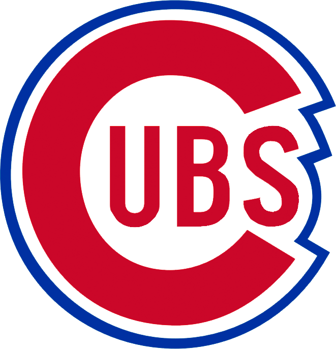 Chicago Cubs logo 1941 to 1956