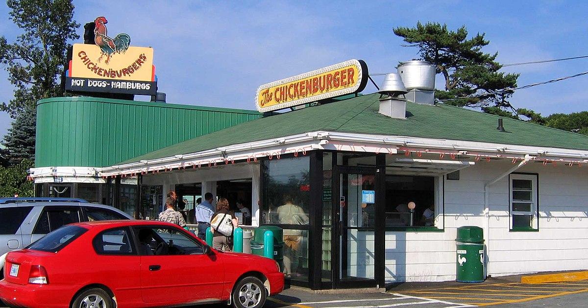 Chicken Burger Bedford Car Show