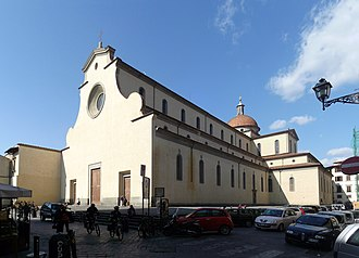 Santo Spirito, Florence - View of the Basilica.