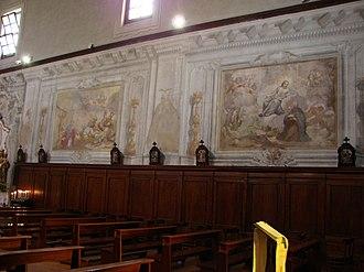 Santi Jacopo e Filippo (Pisa) - Image: Chiesa dei Santi Iacopo e Filippo Paintings