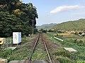 Chikuho Main Line on south side of Chikuzen-Uchino Station 1.jpg