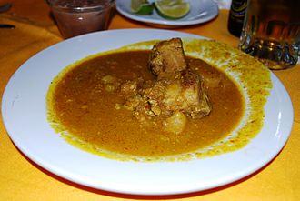Oaxacan cuisine - Chileajo, a mole regional to Huajuapan de León.