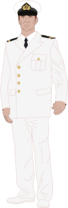 Chilean Navy Suits - Male N°12 - White Service -.png