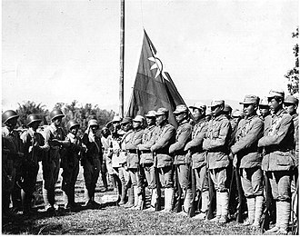 Chinese Expeditionary Force - Reunion of the Chinese Expeditionary Force and the Chinese Army in India (X Force and Y Force).