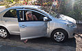 Chloe's car after encounter with her letterbox, Perth, 22 Oct. 2010 - Flickr - PhillipC.jpg