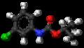Chlorpropham molecule ball.png