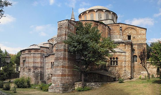 Chora Church medieval Byzantine Greek Orthodox church preserved as the Chora Museum in the Edirnekapı neighborhood of Istanbul