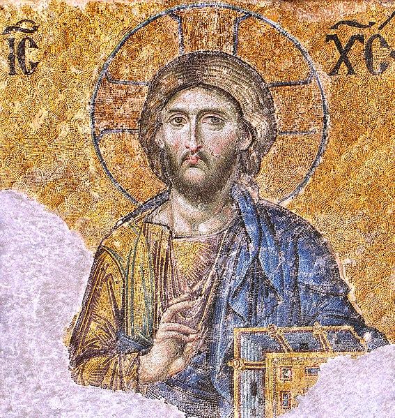 File:Christ Pantocrator mosaic from Hagia Sophia 2744 x 2900 pixels 3.1 MB.jpg