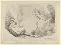"Chrysogone Conceives, in a Ray of Sunshine, Amoretta and Belphoebe (Edmund Spenser, ""The Faerie Queene, III, vi) MET DP854872.jpg"