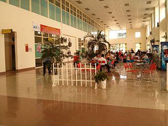 Chu Lai International Airport - inside the terminal