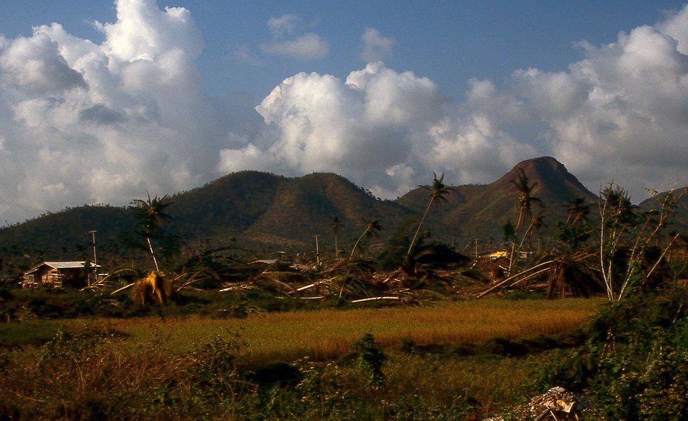 Chumphon typhoon damage 1