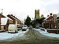 Church Lane in the Snow - geograph.org.uk - 2182317.jpg
