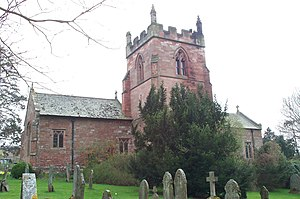 Grade II* listed buildings in Eden District - Image: Church of St Michael Bongate, Appleby