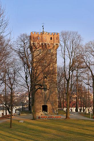 Cieszyn Silesia - Piast tower in Cieszyn