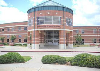 Cinco Ranch High School - Image: Cinco Ranch High School
