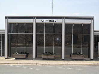 Marble Falls, Texas - Image: City Hall in Marble Falls, TX IMG 1963