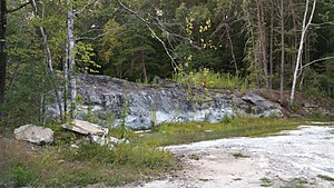 National Register of Historic Places listings in Pickens County, South Carolina - Image: Civilian Conservation Corps Quarry No. 2