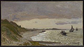 The Seashore at Sainte-Adresse