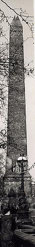 L'Ago di Cleopatra sulla riva del Tamigi a Londra
