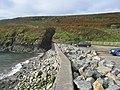 Coastal defences at Abereiddy bay - geograph.org.uk - 1517675.jpg