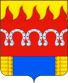 Coat of Arms of Komsomolskoe rural settlement (Voronezh oblast).png