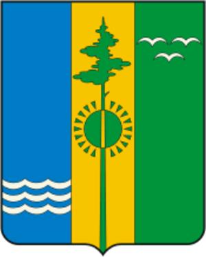 Nizhnekamsky District - Image: Coat of Arms of Nizhnekamsk rayon (Tatarstan)