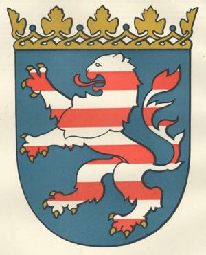 Coat of arms of Hesse - Image: Coat of arms of Hesse original