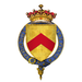 Coat of arms of Sir Edmund Stafford, 5th Earl of Stafford, KB, KG.png