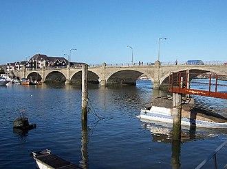 Bitterne Park - Image: Cobden Bridge