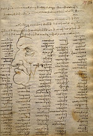 Codex Trivulzianus -  Page of the Codex Trivulzianus