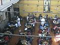 Coffee house view from 1st floor, college street in Kolkata 02.JPG