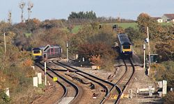 Cogload Junction - FGW 43028 and 43196 (up) pass 43185 and 43174 (down).jpg