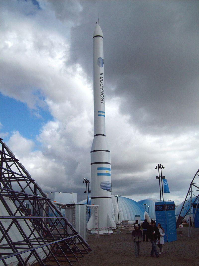 Cohete Tronador II.JPG