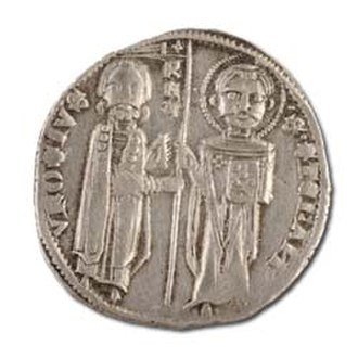 Medieval Serbian coinage - Image: Coin of Stefan Milutin