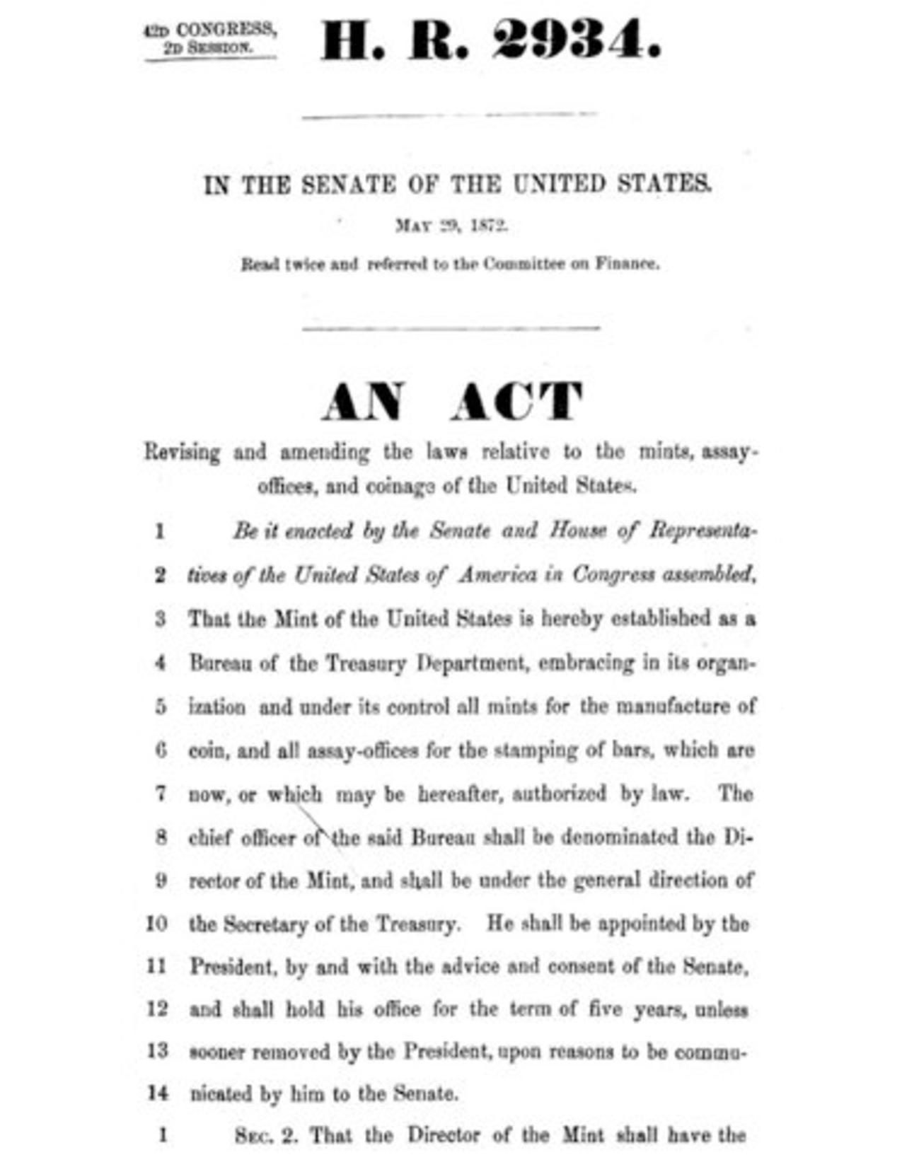 File Coinage Act 1873 Pdf Wikimedia Commons