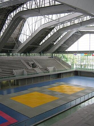 Medellín Sports Coliseum - Interior view of the Guillermo Gaviria Correa Coliseum