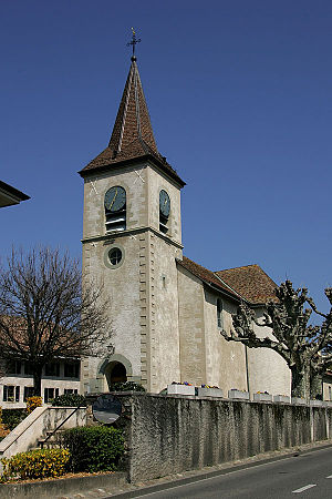 Collonge-Bellerive - Church in Collonge