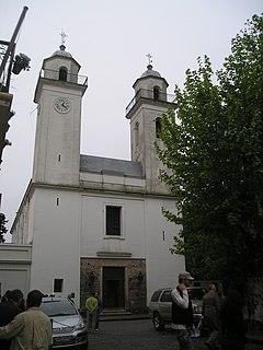 Basílica del Santísimo Sacramento, Colonia del Sacramento cultural heritage monument of Uruguay