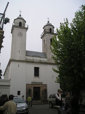 Basílica del Santísimo Sacramento, Colonia del Sacramento - Image: Colonia Church Holy Sacrament