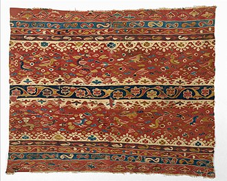 Andean textiles - Image: Colonial period womens mantle
