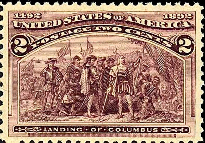 Columbian231 1893 Issue-2c